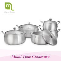 Kitchen equipment cookware parts type pot set