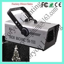 good quality export 1500w indoor snow machine