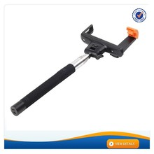 AWM155 Wholesale extendable hand held monopod Bluetooth selfie stick Z07-5