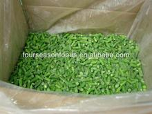 wholesale A Grade frozen/IQF fresh green beans in bundle /cut/whole in 2015 in competitive price ,chinese frozen vegetables