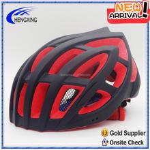 bicycle safety helmet, road bike helmet, New design red color EPS foam bike helmet