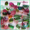 Wholesale rough stone natural multi color tourmaline price per carat