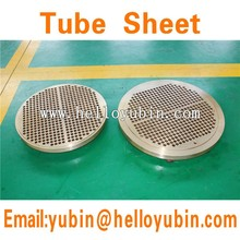 Stainless Steel C71500/steel SA266 Gr2 Clad Tube Sheet Open die forging steel tube sheet for heat exchanger