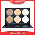 msq 6 colores maquillaje base corrector paletas conjunto