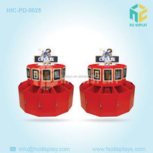 Custom Printed Round Cute Toy Counter Top Shape Display Boxes /cardboard Counter Displays