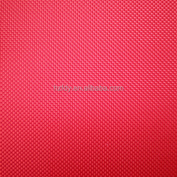 double PU coated 100% polyester fabric bag material