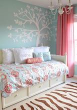 printed baby bed sheet / baby bed sheet set/baby bedding set