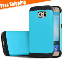 Hybrid Shockproof Hard Rugged Heavy Duty Cover Phone Case for Samsung Galaxy S6