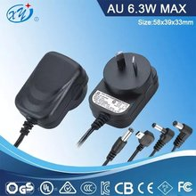 china supplier 240v ac to 12vdc switch power adapter Australia plug for LED driver, electronic cigarette and cctv camera