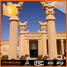 wholesale well polished beautiful stone wedding pedestal columns
