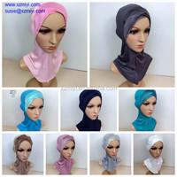 2014 new 100%cotton Underscarf ninja hejab bonnet neck cover muslim inner hijab hijab
