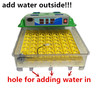 Hot sale holding 55 eggs high quality egg hatching machine price