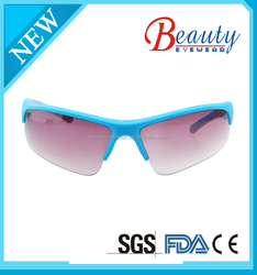 bicycling sunglasses of injected frame