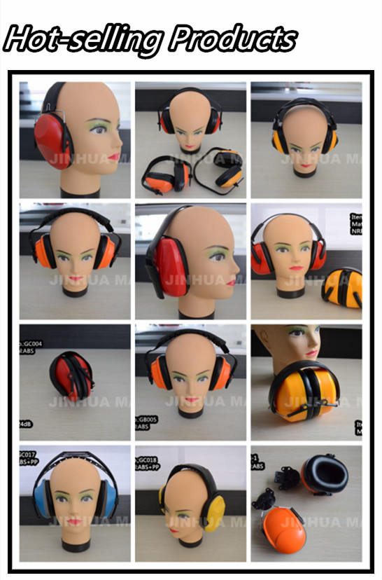 practical ABS noise proof protective ear muff of protection product