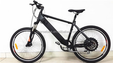 Electric bicycle with the inside battery