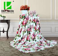 2015 New Soft Design Barney Blanket