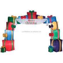 Inflatable Present Archway/replica Christmas decorationm/inflatable replica for promotion