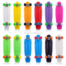 Brand new fish original plastic skateboards longboards penny skates colorful