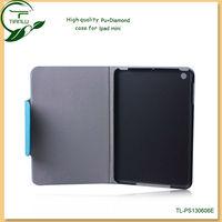 Colorful pu leather case for ipad mini ,mobile phone accessories for ipad mini,for ipad leather case