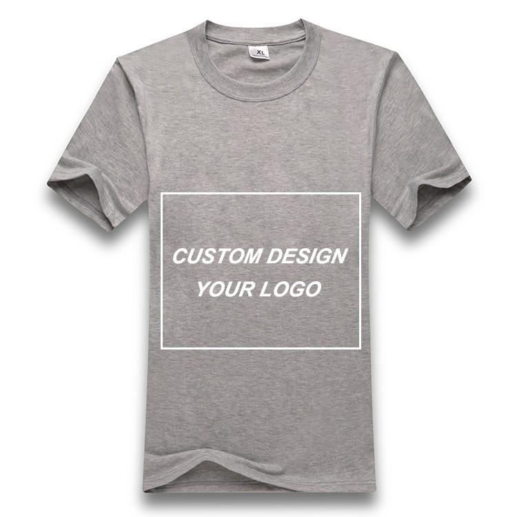 2016 custom design your own logo fashion short sleeve for Design your own logo for t shirts