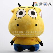 Hot sale plush animal ox plush stuffed toys manufacturer (ICTI audited)