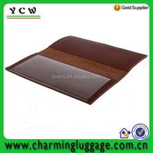 checkbook cover/leather checkbook cover