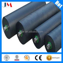 Conveyor rubber coating Idler, impact idler for sugar mill conveyor