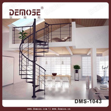 morden design wrought iron stairs/cast iron spiral stair