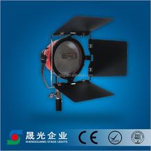 70mm-175mm Fresnel lens red head studio light for TV/photograph