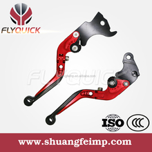 Flyqick Folding Brake Clutch Lever Manufacturers, Highly quality CNC Foldable Motorcycle Clutch Brake Lever,