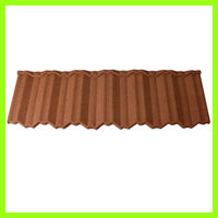 glazed blue color steel thermal insulation aluminium roof tile