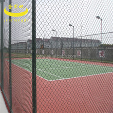 for baseball fields galvanized pvc coated chain link fence