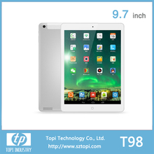 Octa Core 9.7 inch 3G Tablet PC with IPS Screen and BT/GPS/FM/WIFI function