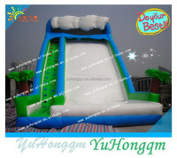 18.5oz pvc tarpaulin material and type inflatable water slide, inflatable slide water beach