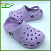 2015 Hot selling simple Mold holes EVA Clogs Shoes EGA0401-06 Heliotrope Color Size 37