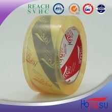 Crystal ultra transparent decorative bopp packing tape