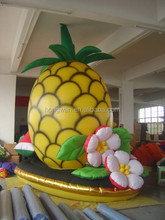2015 Hot sale inflatable cartoon characters advertising pineapple inflatable model