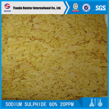 provide supply leather and tannery sodium sulphide 60% in china