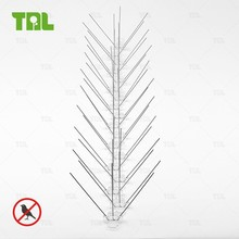 Polycarbonate Base and Stainless Steel Bird Spikes Bird Deterrent TLBS0201
