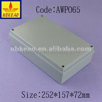 IP65 project aluminium enclosure box case,waterproof aluminium PCB enclosure housing AWP065