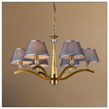 smart lighting pendant lamp OGS-QM05 iron and fabric lampshade 110v 220v home decor chandelier