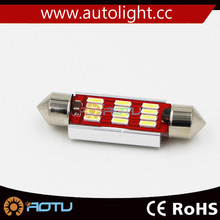 high power 4014 LED Festoon Dome Light Car reading top light