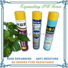 Sales 750ml pu foam polyurethane foam polyurethane spray foam for building and house Factory Direct Sales