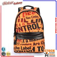 BBP602 New arrival fashion backpack top bag brands unisex school bags wholesale