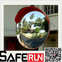 450mm acrylic dome convex or concave traffic mirror convex