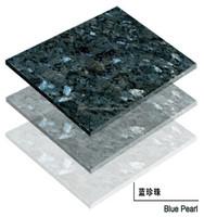 Granite Blue Pearl, blue granite