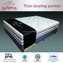 3D Fabric Knitting Cover Zones Pocket Spring Compressed Mattress