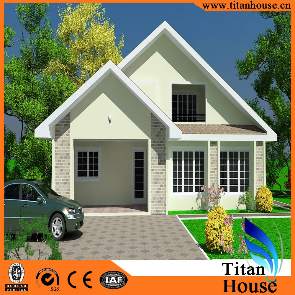 Luxury Kit Homes China Manufacture Steel Prefabricated