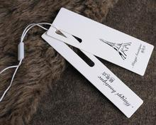 2015 hang tag for apparel attachment
