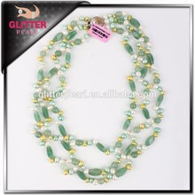 Wholesale special design fresh water pearls necklace fashion jewelry
